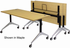 Flip Top Training Tables in Maple, White, Mocha or Cherry - 60