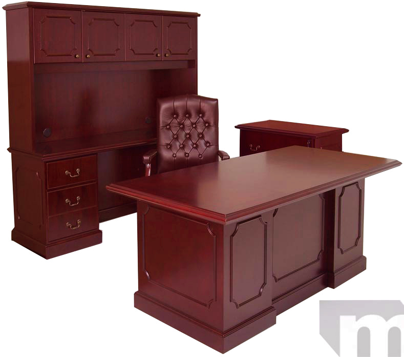 in stock traditional cherry office furniture + in stock - free