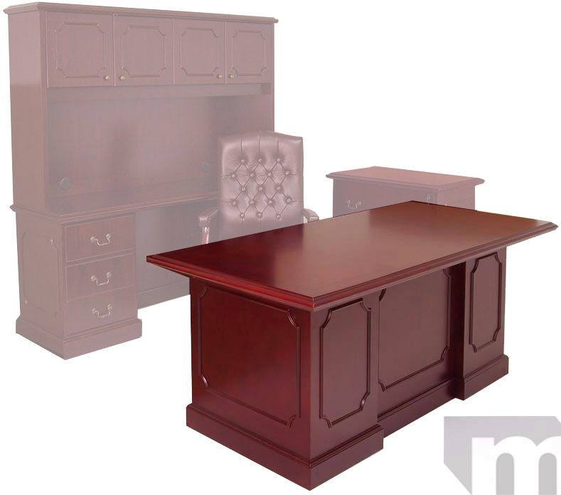 Office Furniture Free Shipping: Traditional Cherry Office Furniture
