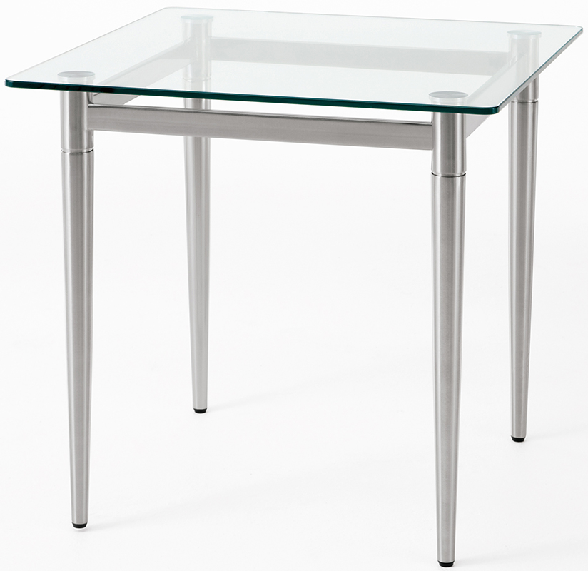 Charmant Glass Reception End Table U0026 Coffee Table Series ...