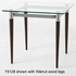 Glass Reception End Table & Coffee Table Series - 22