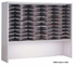 Heavy-Duty Mail Centers - 50-Pocket Elevated Sorter