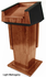Height Adjustable Presidential Podium