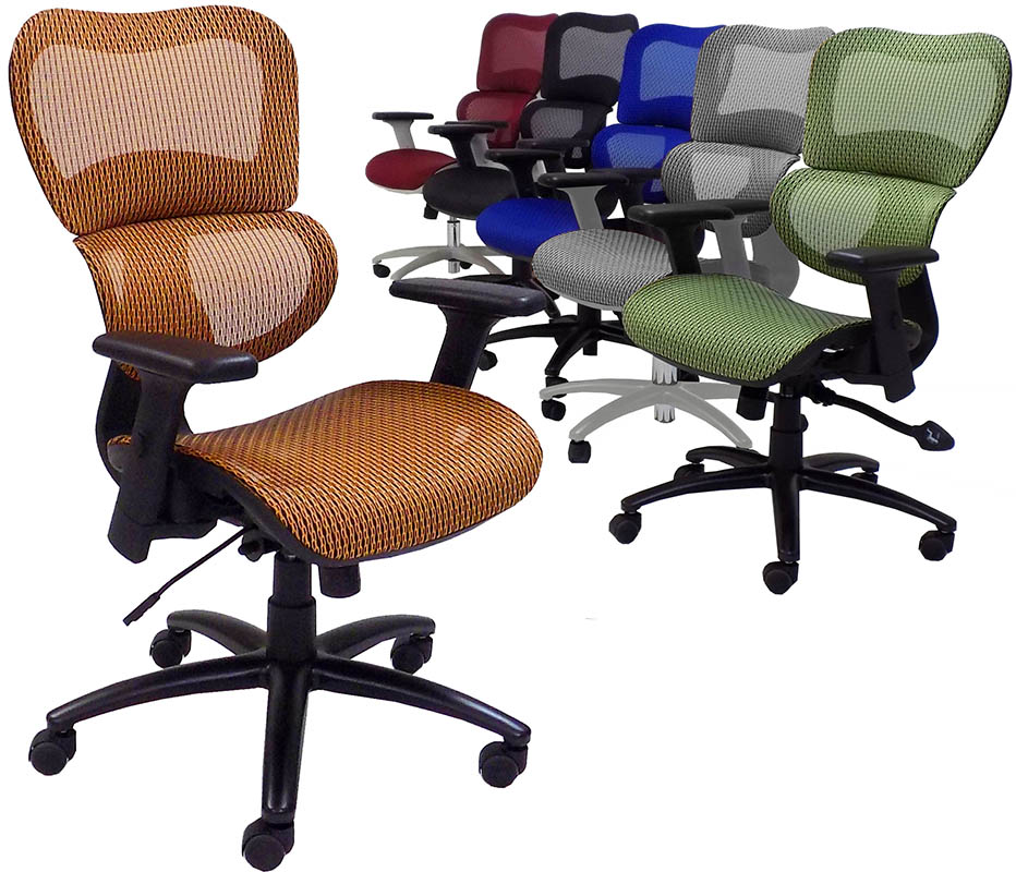 HumanFlex Elastic All Mesh Ergonomic Office Chair
