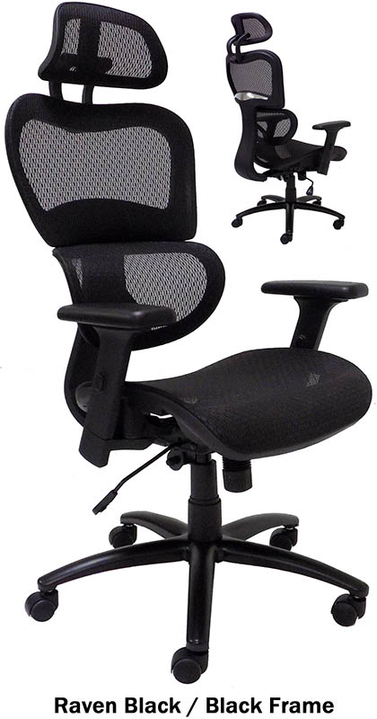 elastic all-mesh ergonomic office chair