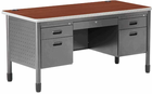Steel Post Leg Desk Series