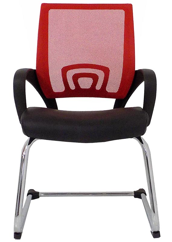 ... Leather U0026 Mesh Color Burst Guest/Reception Chairs