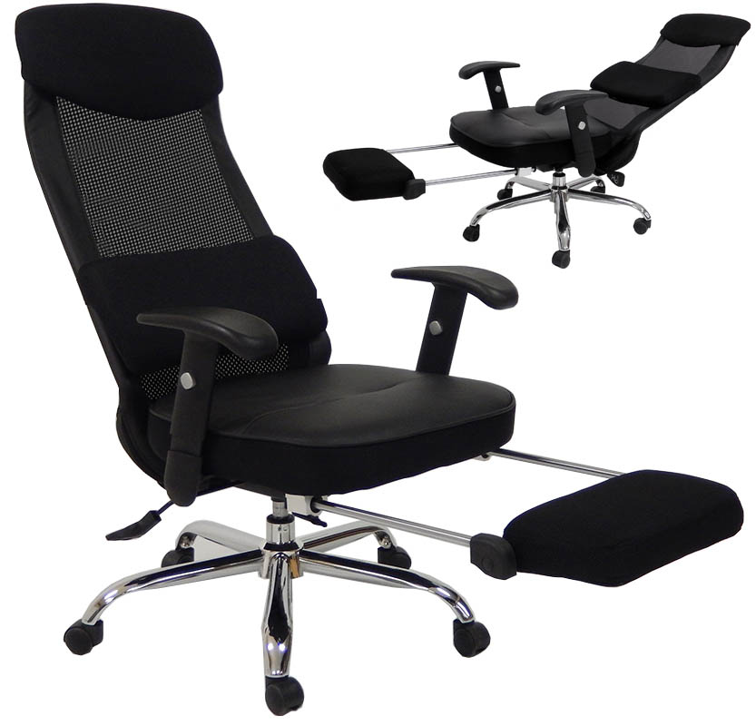 mesh back reclining office chair g