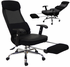 Mesh Back Reclining Office Chair w/ Footrest