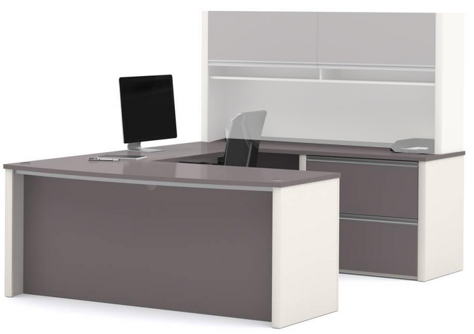 Metro Office Furnishings In 2 Finish Choices   U Shaped Workstation