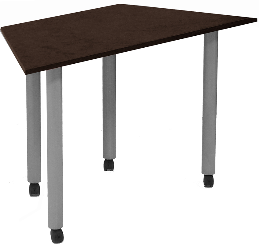 Modular training tables modular meeting table for Trapazoid table