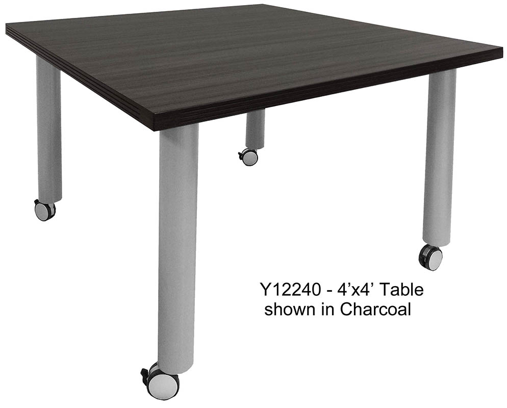 Mobile Modular Conference Tables X SquareSee Other Sizes Below - Mobile conference table