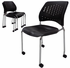 300 lb. Capacity Mobile Stacking Guest Chair