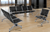 Modern Classic Airport Lounge Beam Seating - Single Seat - See Other Sizes