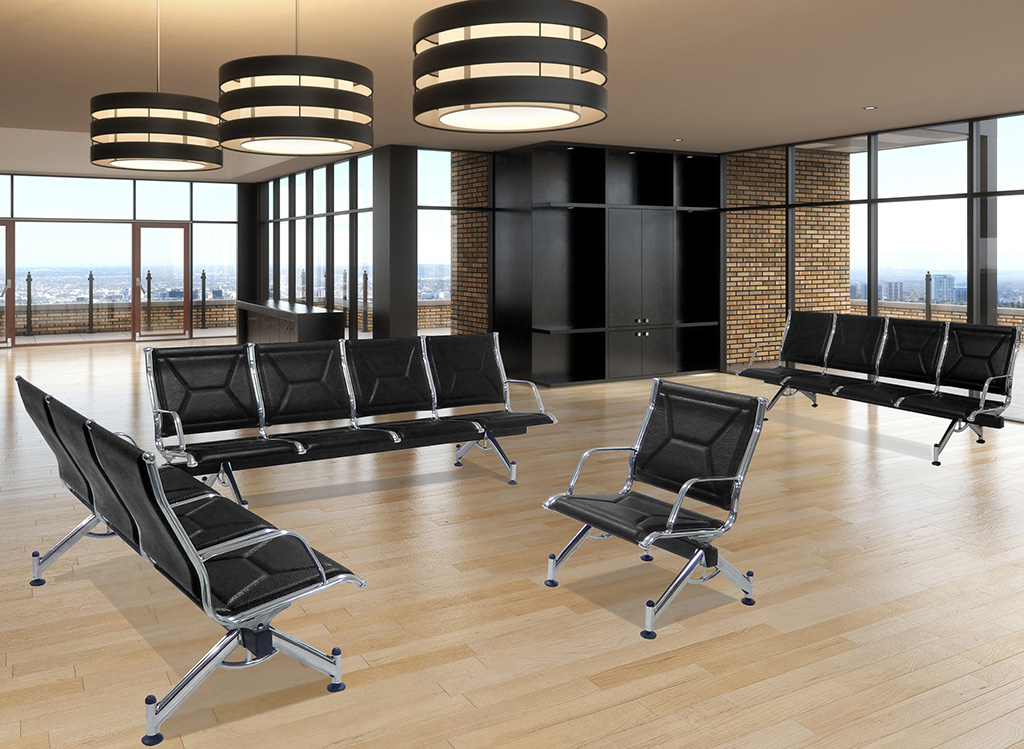 Modern Classic Airport Lounge Beam Seating Single Seat
