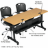 Modular Flip-Top Training Tables -60