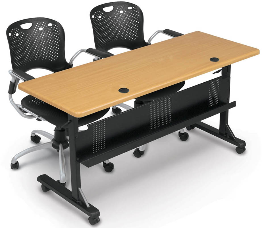 Modular FlipTop Training Tables W X D Training TableSee - Training table sizes