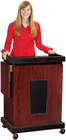 Multi Media Presentation Stand w/Built-In Sound System