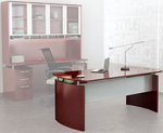 Napoli Wood Veneer Office Furniture Collection