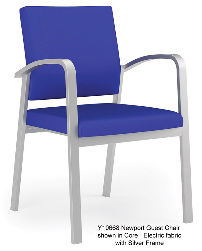 Newport Guest/Reception Seating Series   Guest Chair