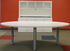 Oval Conference Table in 5 Colors - 8' Length- See Other Sizes