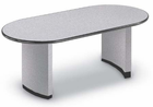 6' Custom Oval Racetrack Table with Bullnose Edge-Other Size Available