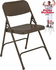 Premium Steel Folding Chair - 300 lb Capacity