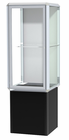 "72""H Prominence Pedestal Locking Display Case"