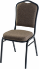 Silhouette Banquet Stack Chair in Fabric