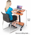 Sit-To-Stand Height Adjustable Ergonomic Workstation