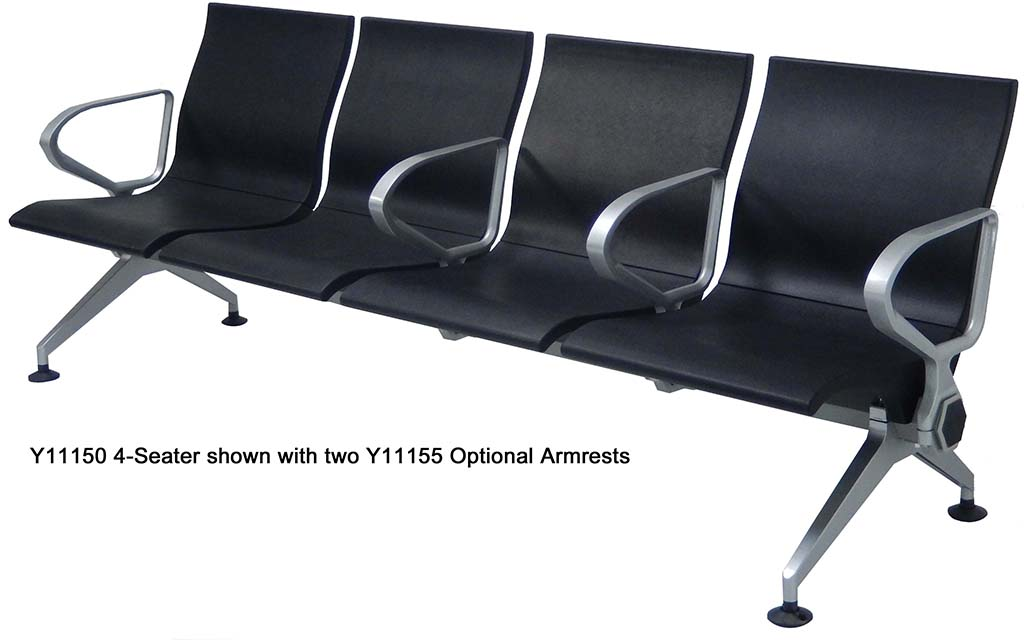 Skyway Commercial Beam Seating Single Seat