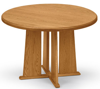 Solid Oak Round Conference Tables See Other Sizes - 36 conference table