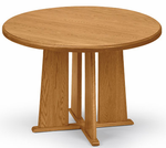 "36"" Solid Oak Round Conference Tables - See Other Sizes"