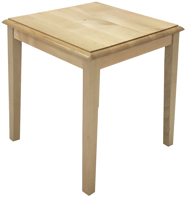 Solid Wood Coffee And End Tables For Sale: Solid Wood Reception End Table & Coffee Table Series