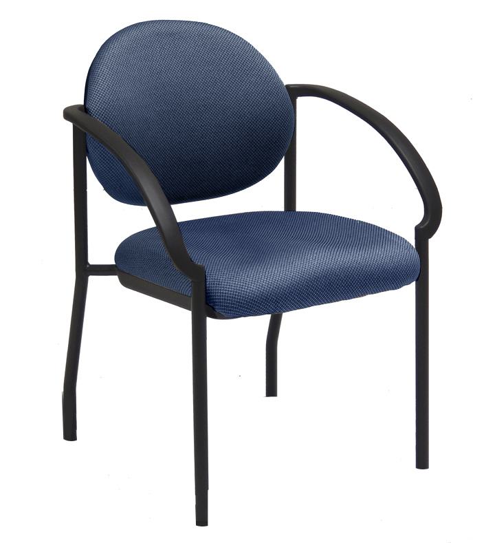 sc 1 st  Modern Office & Stackable Chair with Flared Armrests