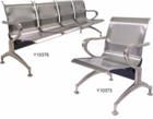 Stainless Steel Heavyweight Beam Seating - Single Seat