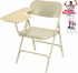 Steel Folding Chair with Tablet Arm - 300 lb Capacity