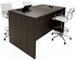 Team Standing Height Meeting Table in Charcoal