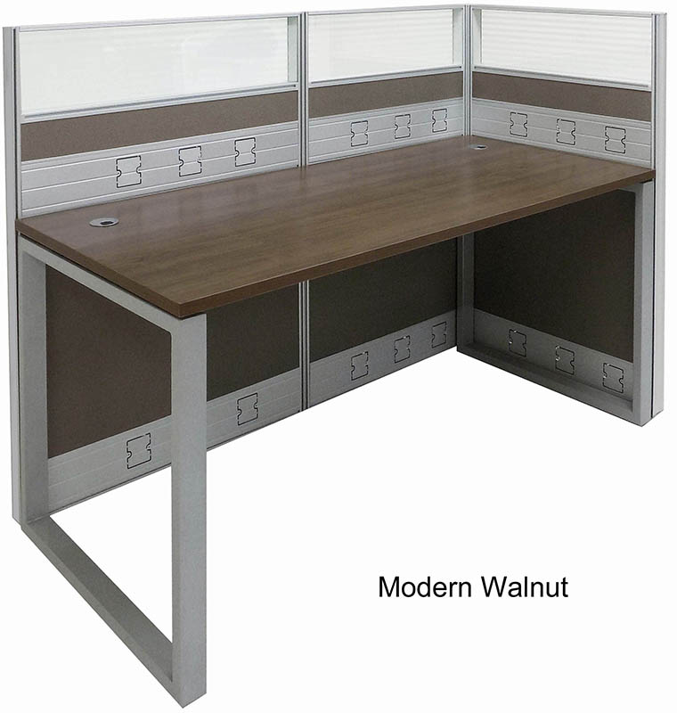 Modern office cubicles Home Office Strongproject Trendspaces Office Cubiclespremium Single Open End Cubicle