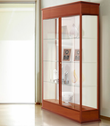 "77""H Varsity Series Display Cases - 48"" Wide Hinged Door Locking Display Case - See Other Sizes"