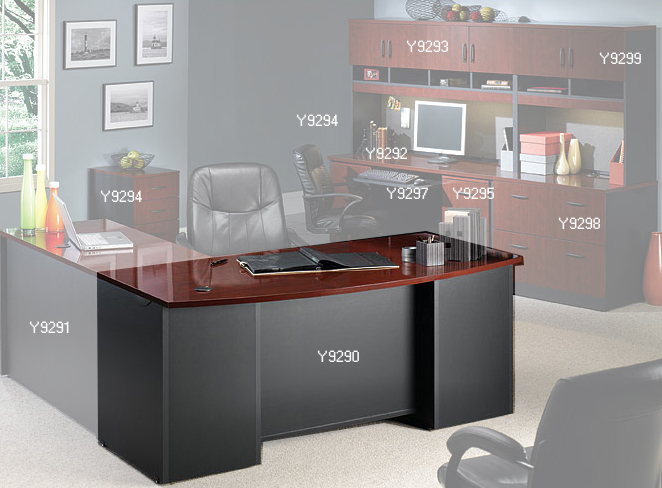 Via modular office furniture collection desk shell - Home office modular furniture collections ...