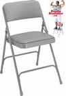 Vinyl Padded Steel Folding Chair - 300 lb Capacity