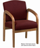 Wood Guest Chair in 3 Wood Finishes
