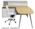 WorkTrend Low Rise L-Workstation Desk