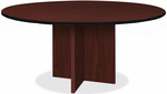 "60"" Round X-Base Custom Conference Table -Other Sizes Available"