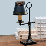 Adjustable Tole Desk Lamp
