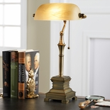 Antique Brass Desk Lamp