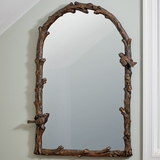Arched Bird Mirror