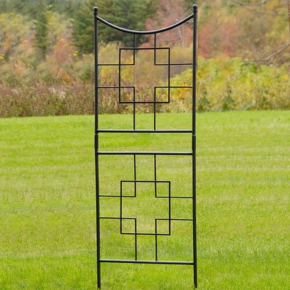 Architectural Wrought Iron Trellis