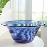 Artisan Cobalt Glass Bowl